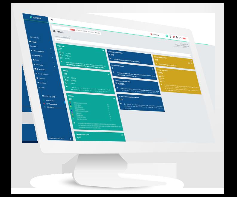 Statshop : Solution de web analytique